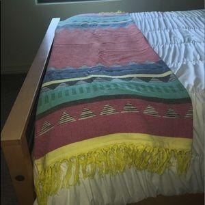 Other - Bohemian throw blanket